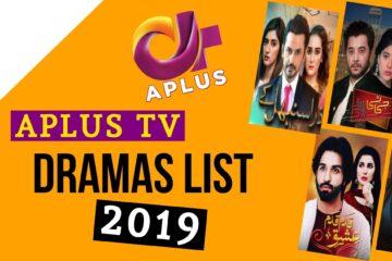 APlus TV Dramas List of 2019