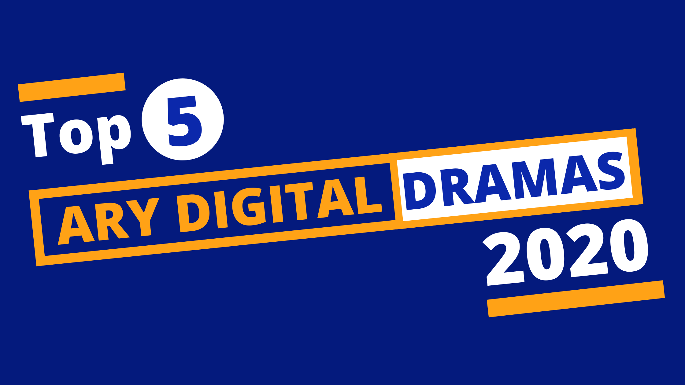 Top 5 ARY Digital 2020