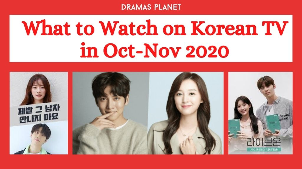 New K-Dramas (Oct-Nov 2020)