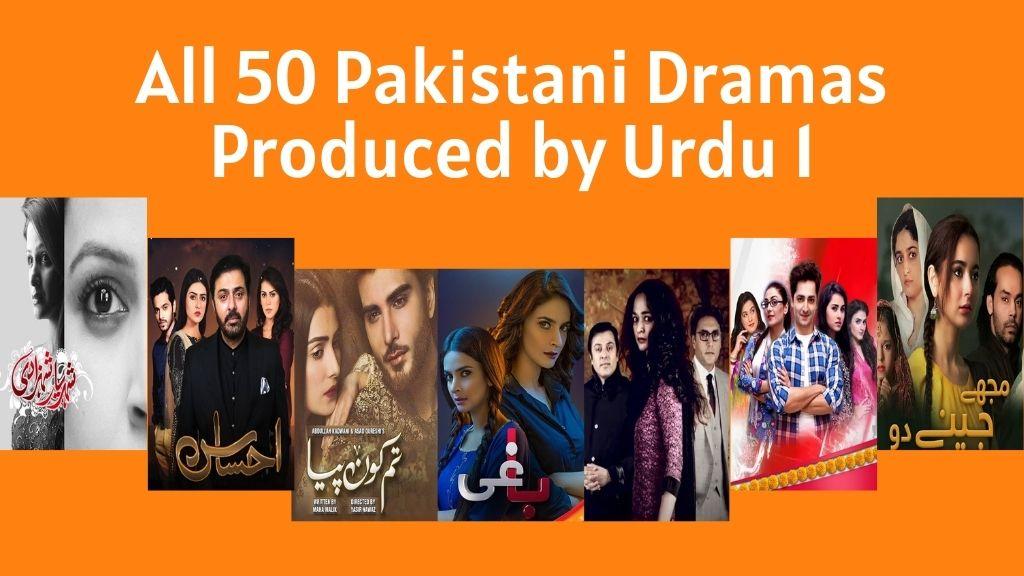 Urdu1 Dramas List